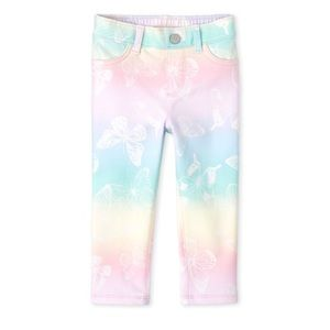 NWT Butterfly French Terry Pull On Jeggings 18-24m